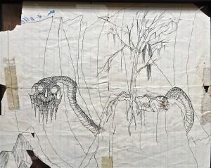 Lemmy's drawings